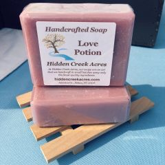 Love Potion ~ Handcrafted Beer, Aloe, & Shea Butter Soap