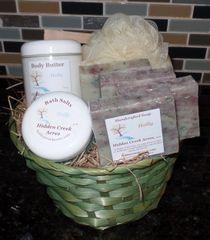 Large Custom Gift Basket