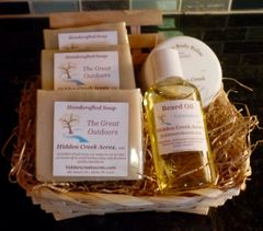 Men's Custom Gift Basket