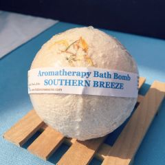 Bath Bombs ~ SOUTHERN BREEZE Aromatherapy Bath Bomb ~ 4.5oz