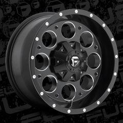 Fuel Offroad D525 Revolver Wheels