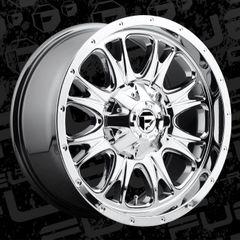 Fuel Offroad D519 Throttle Wheels PVD