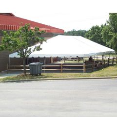 ***30' x 60' Frame Tent SuperSale (Single Tube Aluminum) (Variety of Colors in 4-Piece)