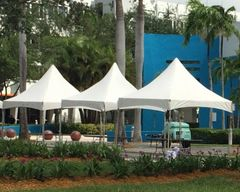 Party-Rental Start-Up Pack. B (High-Peak Frame Tent 10 x 10/ 20 x 20) - Click on Picture
