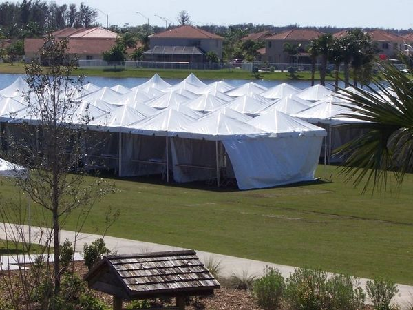 Disaster Relief Tent Shelters / Special Pricing - Click Here