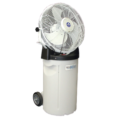 ***VersaMist Portable Misting Fan with 14 Gallon Tank (Available in White or Black)