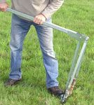 "JackJaw 301 Tent Stake Puller (easily removes 3/4"" to 1 1/4"" diameter tent stakes and rebar) - Click on Picture"