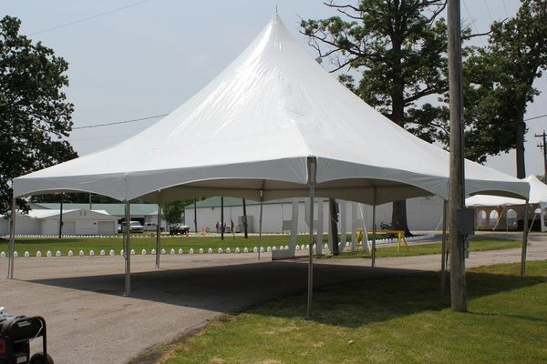 30' x 30' High-Peak Tent Top