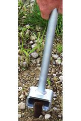 ***Stake Adapter - AC0009 Tent Stake Adapter is used with the JackJaw models that have adjustable bases to remove flush pounded stakes or those used in stake bar systems - Click on Picture