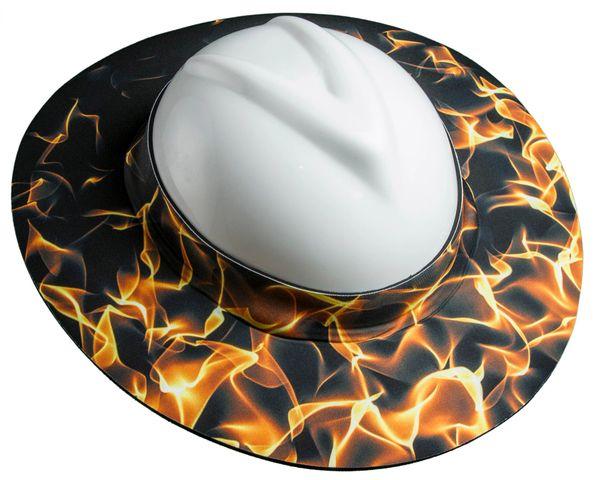 FIRE, Brahma Brims Hard Hat Sun Brim | Brahma Brims, Hard ...