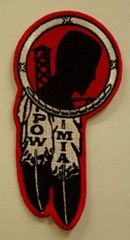 POW MIA NATIVE AMERICAN DREAM CATCHER (large)