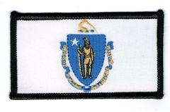 MASSACHUSETTS STATE FLAG (SMALL)
