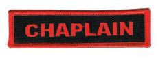CHAPLAIN (RED)