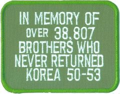 Korea - In Memory of