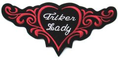 TRIKER LADY TRIBAL HEART LARGE