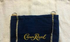 Crown Royal biker purse