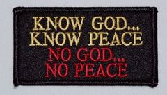 KNOW GOD...KNOW PEACE