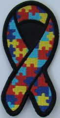 PUZZLE RIBBON AUTISM AWARENESS