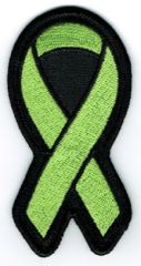 LIME GREEN RIBBON LYMPHOMA BLOOD CANCER AWARENESS