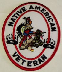 NATIVE AMERICAN VETERAN LARGE