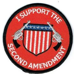 I SUPPORT THE SECOND AMENDMENT (GUNS & SHIELD)