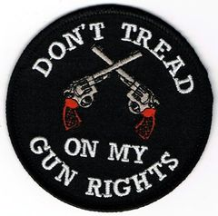 DON'T TREAD ON MY GUN RIGHTS (PISTOLS)