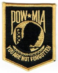POW YOU ARE NOT FORGOTTEN SMALL GOLD