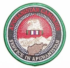 AFGHANISTAN CAMPAIGN