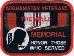 AFGHANISTAN VETERANS MEMORIAL - HONOR THOSE WHO SERVED