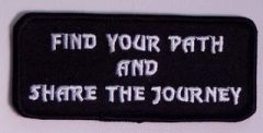 FIND YOUR PATH AND SHARE THE JOURNEY