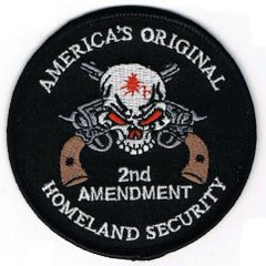 AMERICA'S ORIGINAL HOMELAND SECURITY - SKULL