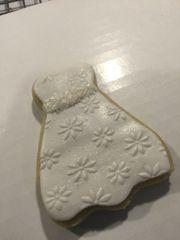 2-inch Fondant Dressed Sugar Cookies (per dozen)