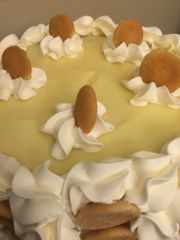 Banana Pudding Cream Cake