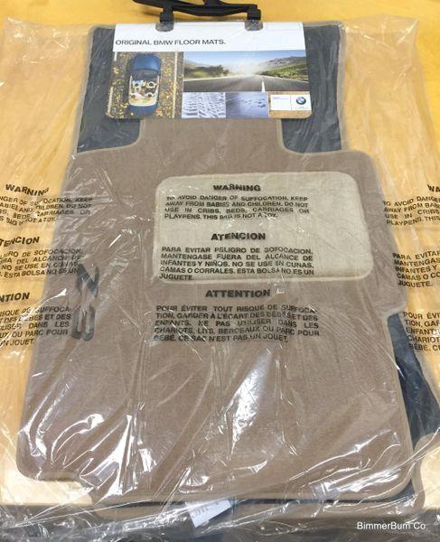 Nla Genuine Bmw Z3 Tan Floor Mat Set 82111470157