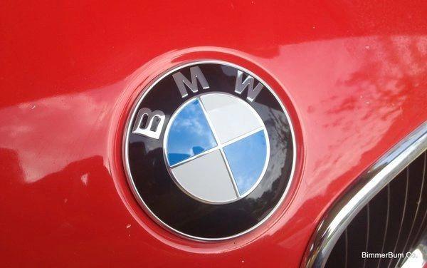 Genuine Bmw 51148132375 Hood Emblem Roundel Kit