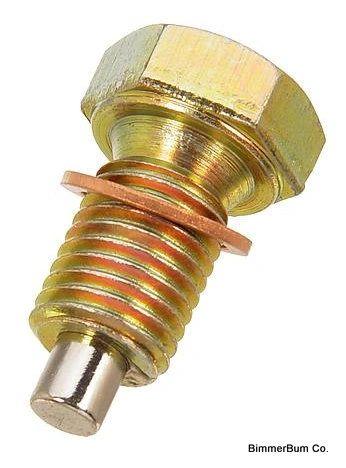 Bmw Magnetic Engine Oil Drain Plug Bimmerbum Co Bmw