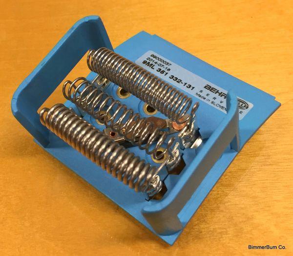 Bmw Behr Replacement Blower Motor Resistor Z3 64 11 6 912