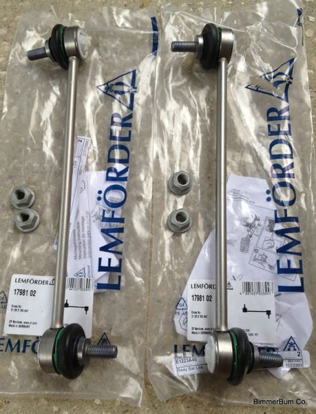 Oem Lemforder Front Sway Bar Link Set E46 E85 E86 31 35 6 780 84 Bimmerbum Co Bmw Parts