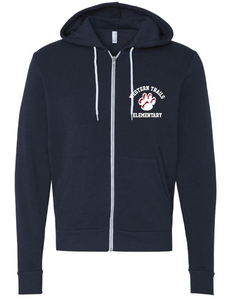 PREMIUM FULL ZIP FLEECE W EMBROIDERED LOGO