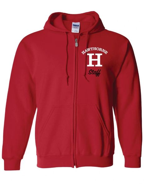 Hawthorne Full Zip embroidered Hoody