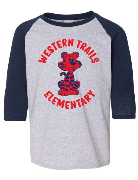 WESTERN TRAILS RETRO BASEBALL SHIRT
