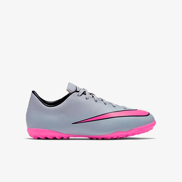 new product 64735 57a71 Junior Mercurial Victory V TF(WOLF GREY)