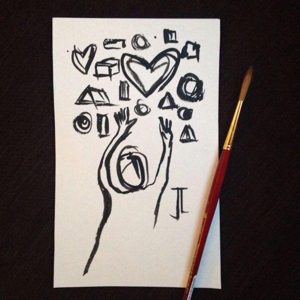Heart reach mini ink