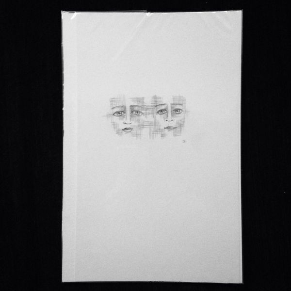 "Intertwined 9x6"" graphite drawing"