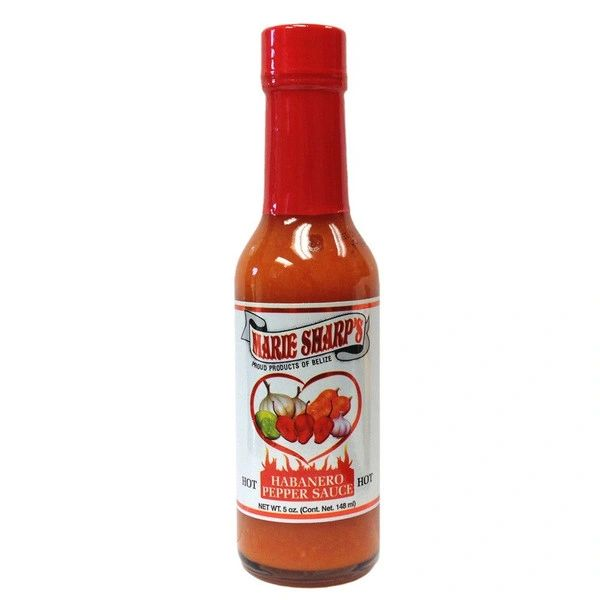 """Marie Sharp's Hot Habañero Pepper Sauce – (Three """"3"""" Pack)"""