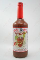 """Whiskey Willy's Xtreme Bloody Mary Mix - (Two """"2"""" Pack Of 32 Oz. Bottles)"""