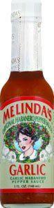 Melinda's Garlic Habañero Pepper Sauce - (Single 5 Oz. Bottle)
