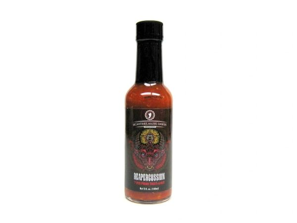 """Heartbreaking Dawns Reapercussion 7 Pod Primo Facef#@$er (Three """"3"""" Pack Of 5 Oz. Bottles)"""