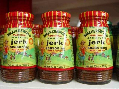 "Walkerswood Hot & Spicy Traditional Jamaican Jerk Seasoning – (Three ""3"" Pack of 10 Oz. Bottles)"