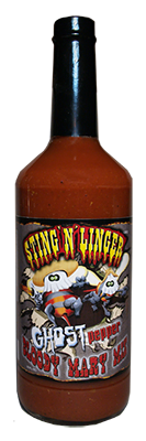 """Sting 'n' Linger Ghost Pepper Bloody Mary Mix - (Two """"2"""" Pack)"""
